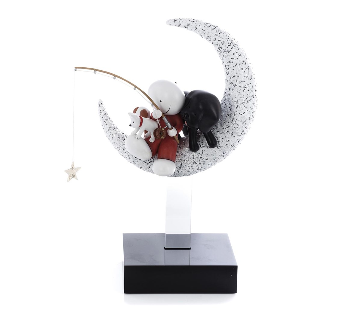Catch a Falling Star by Doug Hyde - Cold Cast Porcelain sized 9x14 inches. Available from Whitewall Galleries